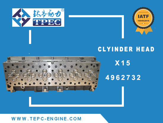 X15 4962732 CUMMINS Cylinder Head tpec